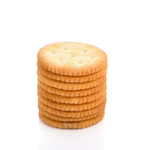 Cracker o biscotti Foto Premium