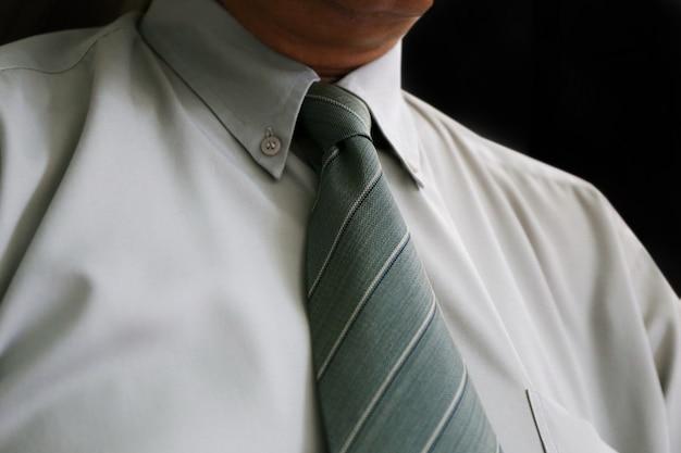 Cravatta dell'uomo d'affari Foto Premium