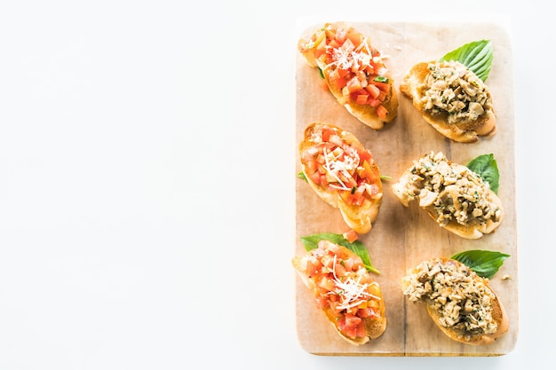 Cucina aglio tradizionale brindisi bruschetta Foto Gratuite