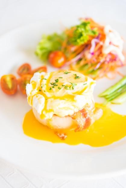 Cucina inglese erba cipollina brunch salmone | Scaricare foto gratis
