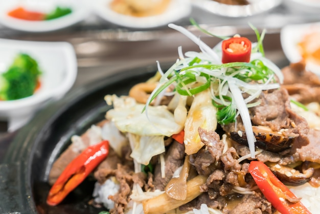 Cucina tradizionale coreana scaricare foto gratis for Cucina coreana