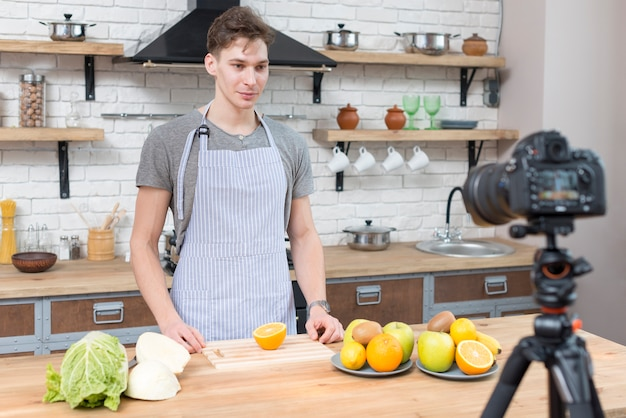 Cucina vlogger Foto Gratuite