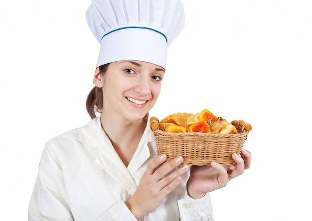 Cuocere con pasticceria Foto Gratuite