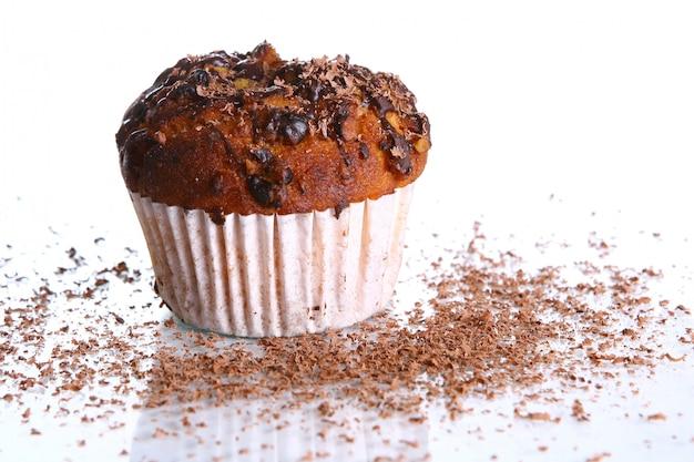 Cupcake al cioccolato grattugiato Foto Gratuite