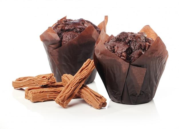 Cupcake al cioccolato Foto Gratuite