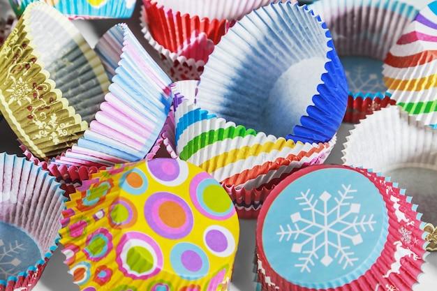 Cupcakes colorati Foto Premium