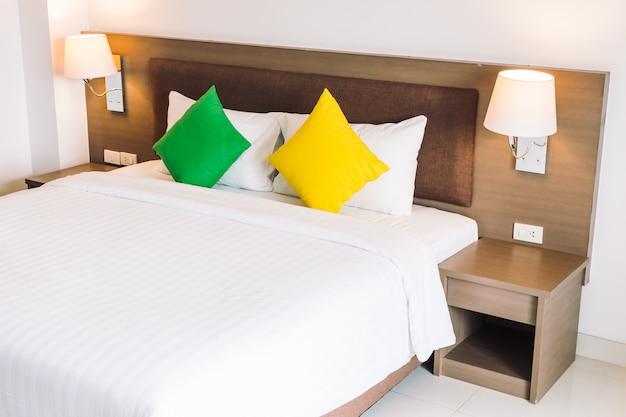Cuscino comfort interno decorazione letto Foto Gratuite
