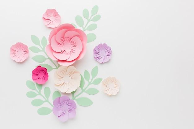 Decorazione di carta floreale Foto Gratuite