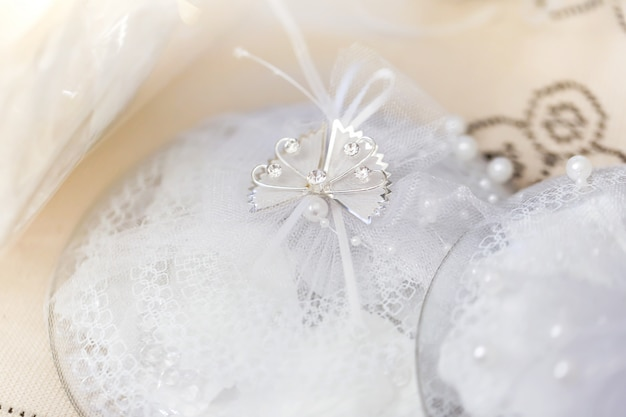 Decorazione di nozze foto tonica Foto Premium