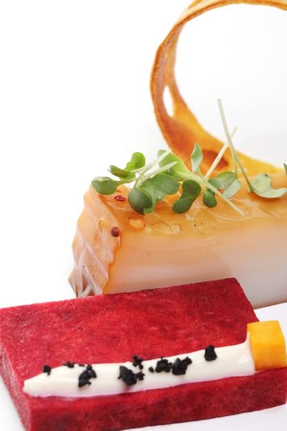 Delizioso cibo gourmet Foto Gratuite