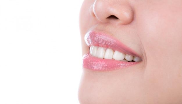 Denti sani donna Foto Gratuite