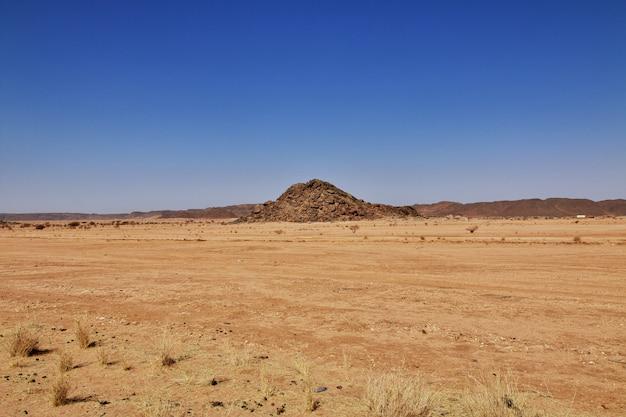 Deserto del sahara in sudan Foto Premium