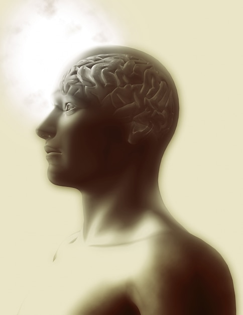 Design cervello umano Foto Gratuite