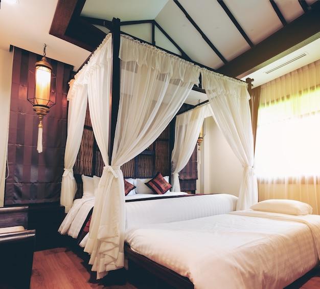 Design della camera da letto di lusso | Scaricare foto Premium