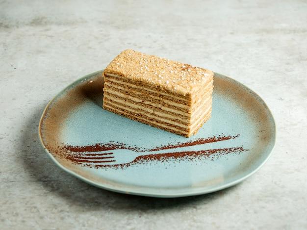 Dessert alla crema a più strati Foto Gratuite