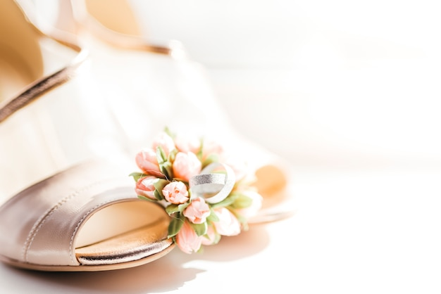 Dettagli delicati di nozze Foto Gratuite