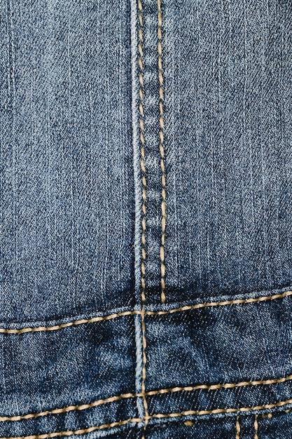Dettagli sul primo piano dei jeans dell'annata Foto Gratuite