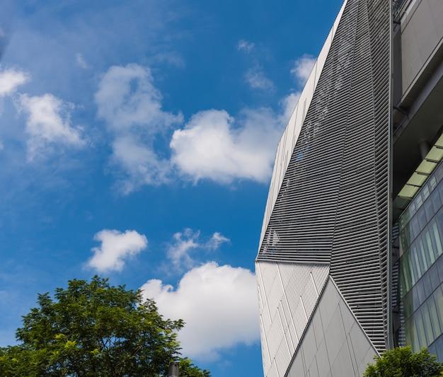 Dettaglio del moderno centro commerciale Foto Premium