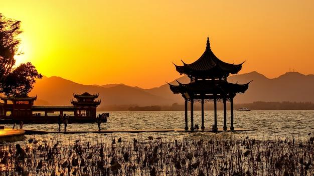 Di costruzione cinese al tramonto scaricare foto gratis for Software di costruzione gratuito