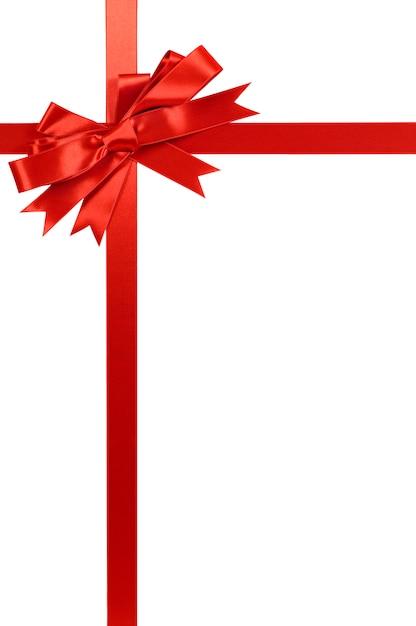 Super Di Natale rosso fiocco regalo e del nastro | Scaricare foto gratis TD32