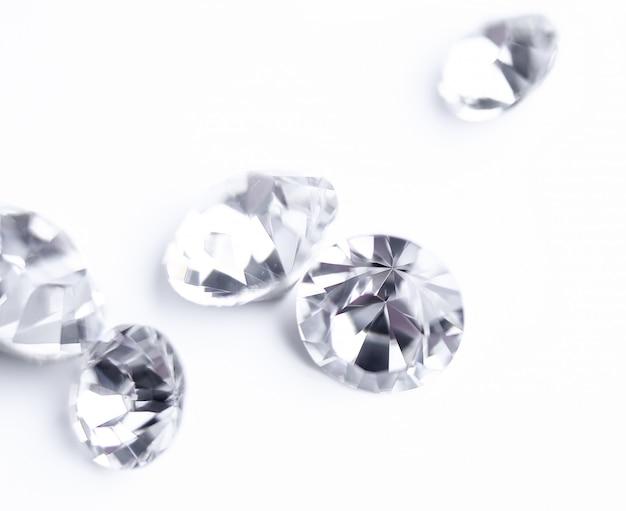 Diamanti espressivi lucidi Foto Gratuite
