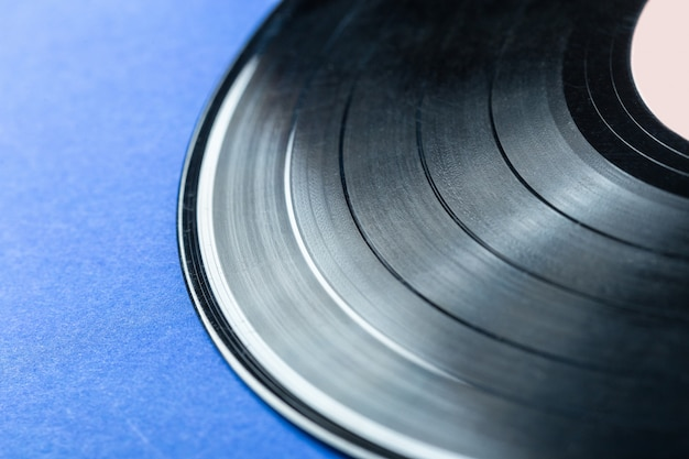 Disco in vinile retrò Foto Premium