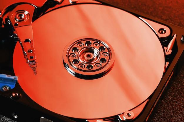 Disco rigido dal disco rigido del computer Foto Premium