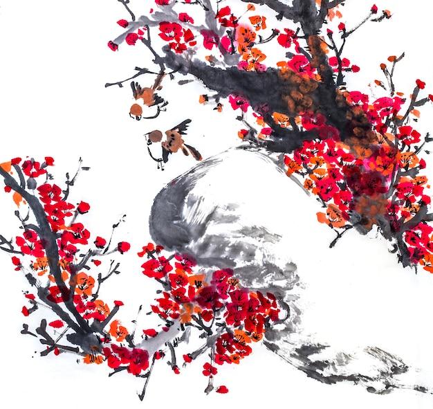 Disegno Pesce Acqua Giapponese Natura Grafica