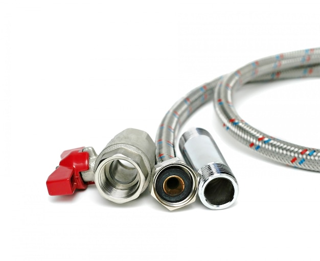 Dispositivi idraulici isolati Foto Premium