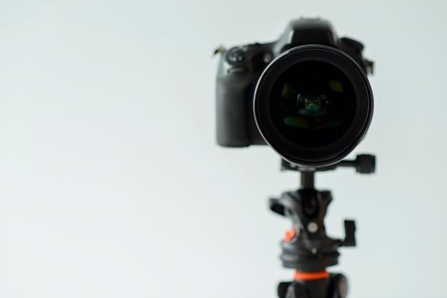 Disposizione con macchina fotografica Foto Gratuite