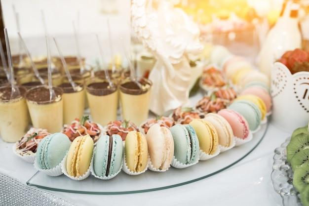 Dolci e dessert nuziali Foto Gratuite