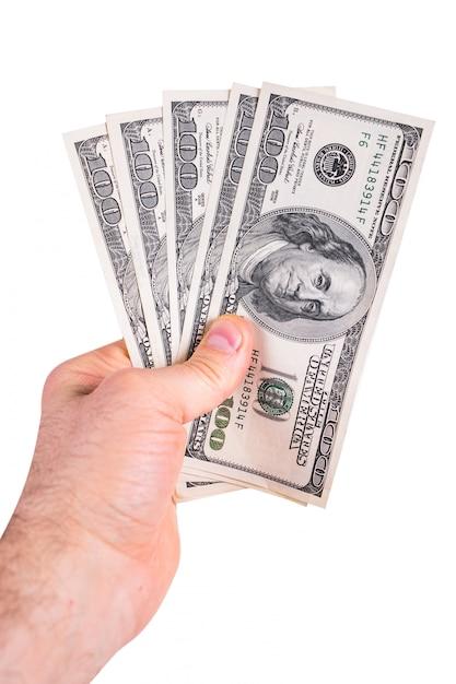 Dollari d'america Foto Premium