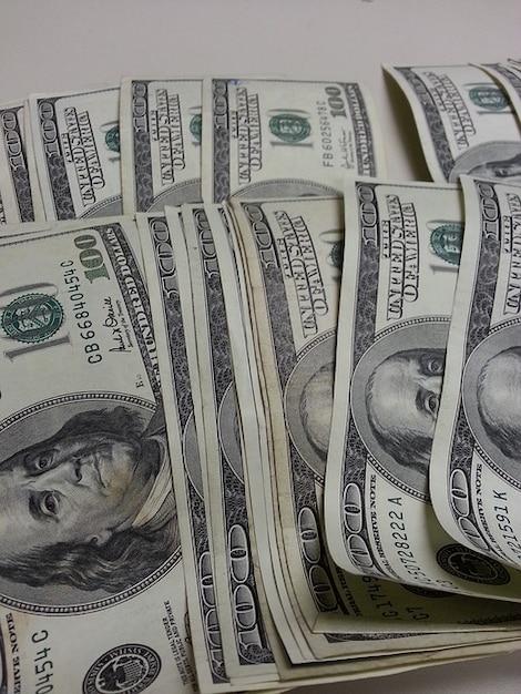 Dollari di denaro benjamin franklin valuta Foto Gratuite