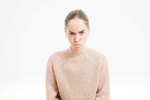 Donna arrabbiata Foto Gratuite
