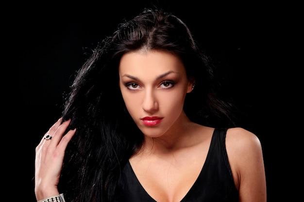 Donna sexy giovane bella brunetta Foto Gratuite