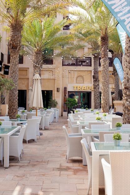 Dubai, un bel posto souk madinat jumeirah Foto Premium