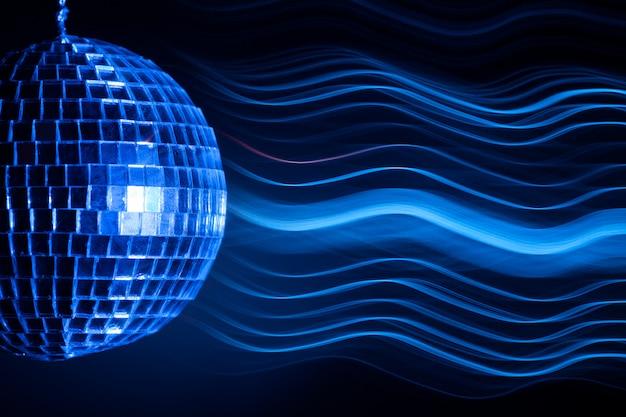 Effetto luce palla da discoteca Foto Premium