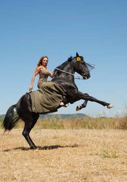 Equitazione Foto Premium