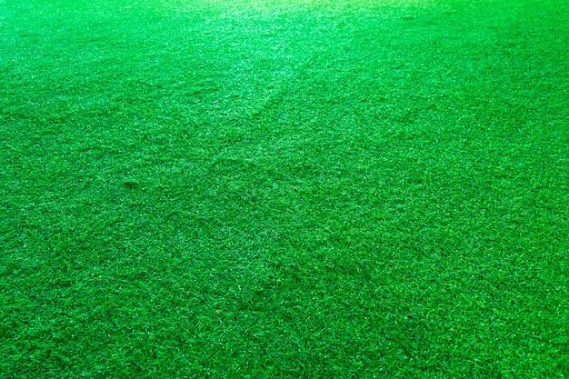 Erba artificiale o fondo di struttura del campo sportivo. Foto Premium