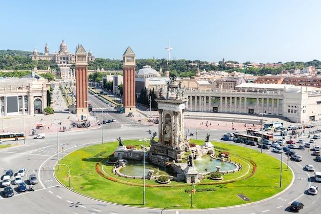 Espana plaza barcellona Foto Premium
