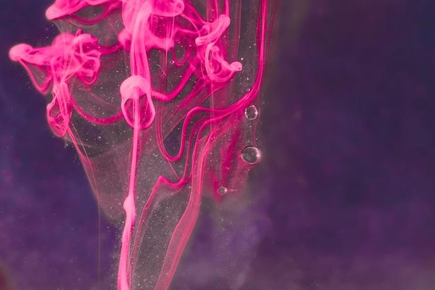 Estratto mazzo di fiori sott'acqua Foto Gratuite