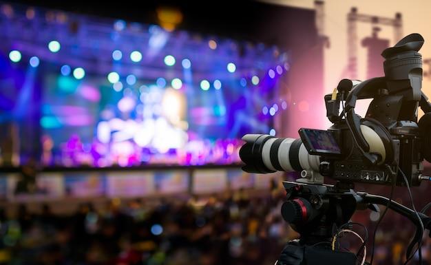 Evento di copertura di produzione video Foto Premium