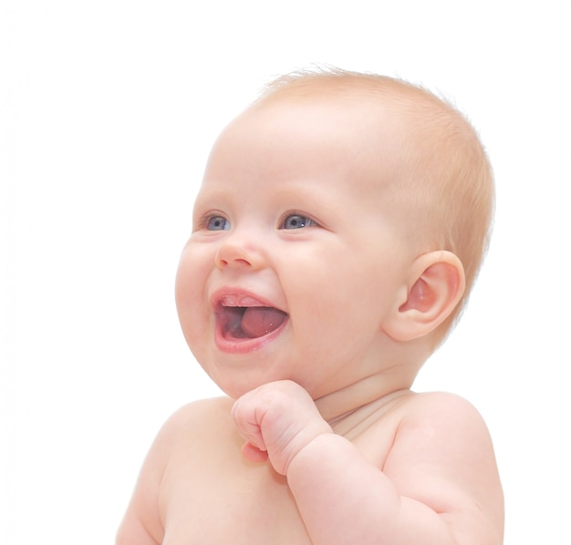Faccia di bebè Foto Premium