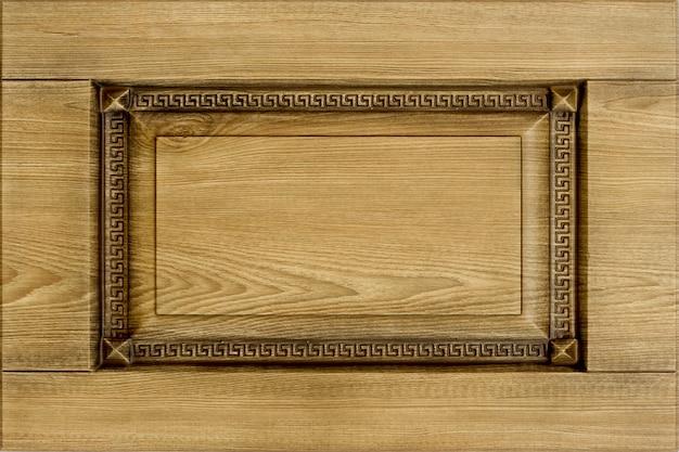 Facciata minimalista della mobilia di concetto o del fondo per la cucina, interno della mobilia Foto Premium