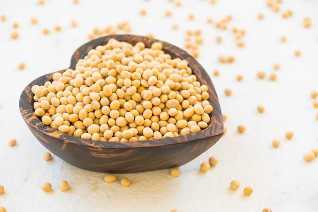 Fagioli di soia gialli Foto Gratuite