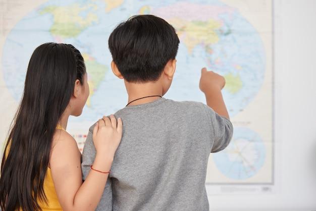 Fai bottino sulla mappa Foto Gratuite