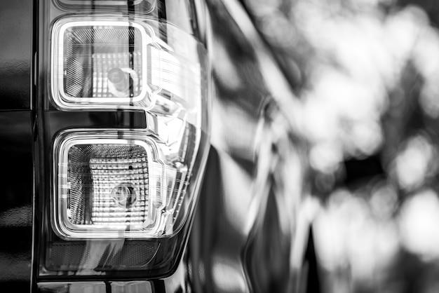 Fanale posteriore auto. Foto Premium