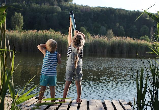 Felice concetto di estate Foto Premium