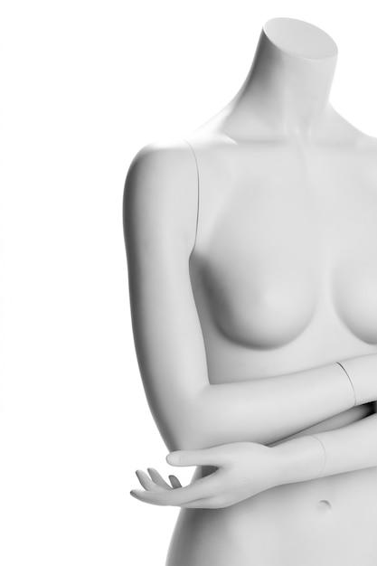 Femmina maneken isolata Foto Premium