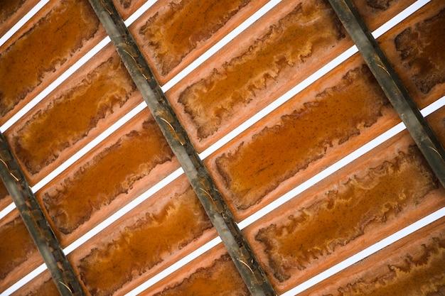 Ferro metallico sul contesto astratto strutturato Foto Gratuite